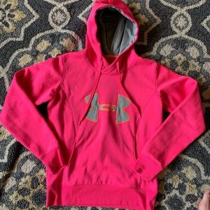 Hot Pink Coldgear Sweatshirt